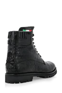 Черные ботинки с черепом Philipp Plein 1795159360