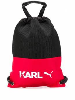 Karl Lagerfeld рюкзак в стиле колор-блок из коллаборации с Puma KLPA0019950