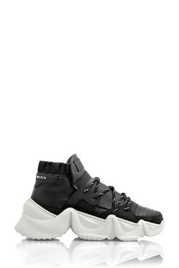 Черные кеды на белой дизайнерской подошве Philipp Plein 1795159681