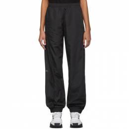A-Cold-Wall* Black Overlock Track Pants 192891F08600303GB
