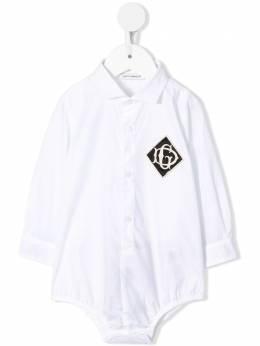 Dolce & Gabbana Kids боди-рубашка L11O67G7TZF