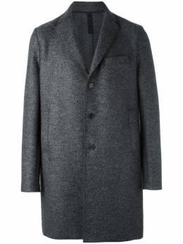 Harris Wharf London пальто с нагрудным карманом C9101MLK