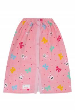 Розовая юбка на кнопках Miki House 3018160153