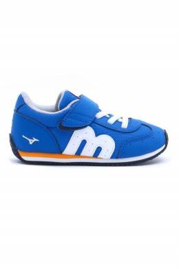 Синие кроссовки с липучкой Miki House 3018160176