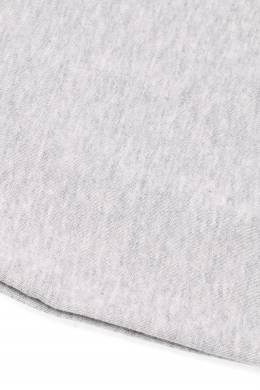 Серый свитшот с кнопками на плече Miki House 3018160173