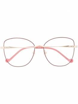 LIU JO - очки в массивной квадратной оправе 93595695589000000000