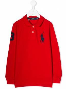 Ralph Lauren Kids - рубашка-поло с вышивкой Big Pony 36363695033598000000