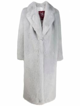 Simonetta Ravizza - oversized faux-fur coat DY956055560000000000