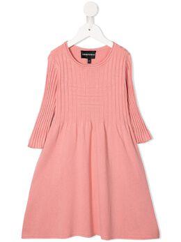 Emporio Armani Kids - трикотажное платье с логотипом A550M65Z953596930000