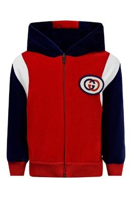 Яркая куртка в спортивном стиле Gucci Kids 1256160308