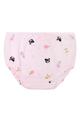 Розовые трусы с рисунком Miki House 3018160253