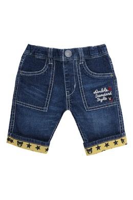 Синие джинсовые шорты Miki House 3018160269