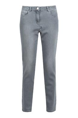 Серые джинсы с лампасами Fabiana Filippi 2658160872