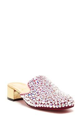 Мюли с крупными кристаллами Christian Louboutin 106161020