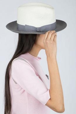 Серо-белая шляпа Fabiana Filippi 2658160906