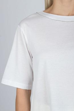 Голубая блуза с серой вставкой Fabiana Filippi 2658160952