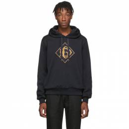 Dolce&Gabbana Navy DG Logo Hoodie 192003M20203206GB