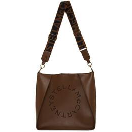 Stella McCartney Brown Mini Crossbody Bag 192471F04803901GB