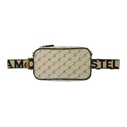 Stella McCartney Beige Monogram Shoulder Bag 192471F04803501GB