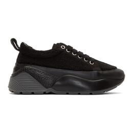 Stella McCartney Black Sherpa Eclypse Sneakers 192471F12802206GB