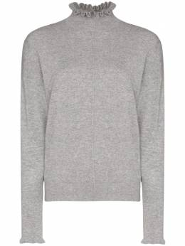 Chloé - Cashmere ruffle detail sweater 06SMP335669559596500