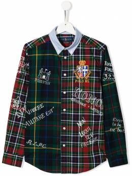 Ralph Lauren Kids - рубашка в клетку 36689995660333000000