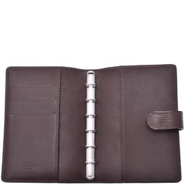 Louis Vuitton Mocha Epi Leather Agenda GM Planner Cover 238199