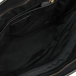 Coach Black Crossgrain Leather City Zip Tote 238338