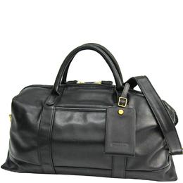 Coach Black Leather Boston Bag 238343