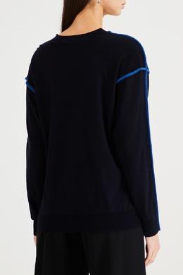 Синий шерстяной джемпер Stella McCartney 193161078