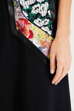 Юбка миди с цветными вставками Stella McCartney 193161086