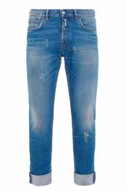 Синие джинсы с потертостями Ice Play 2998161538