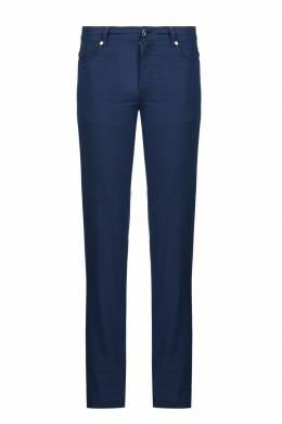 Темно-синие брюки из хлопка Marco Pescarolo 2512161565
