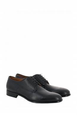 Черные туфли из зернистой кожи Moreschi 2315161448