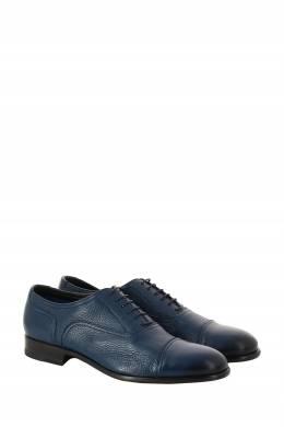 Синие кожаные оксфорды Moreschi 2315161440