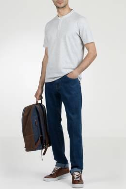 Синие джинсы с контрастными швами Pantaloni Torino 2994161388