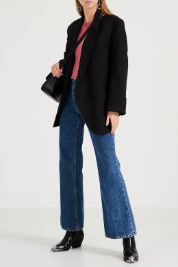 Розовый шерстяной джемпер Stella McCartney 193161130