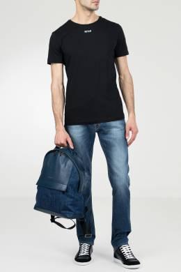Черная футболка из хлопка Ice Play 2998161525