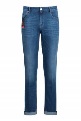 Синие джинсы с классической посадкой Pantaloni Torino 2994161413