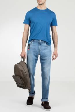 Голубые джинсы с потертостями Pantaloni Torino 2994161411