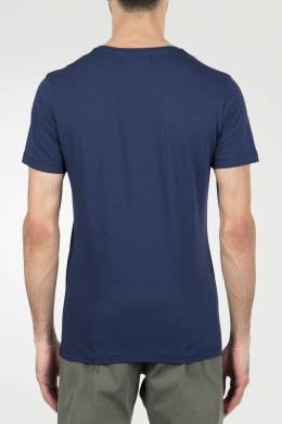 Темно-синяя футболка с принтом Ice Play 2998161517