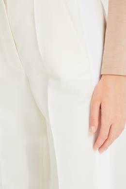 Брюки молочно-белого цвета Stella McCartney 193161128