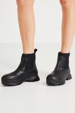 Черные ботинки на высокой подошве Stella McCartney 193161335