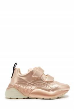Розовые кроссовки на высокой подошве Stella McCartney 193161161