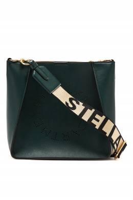 Сумка темно-зеленого цвета Stella McCartney 193161169