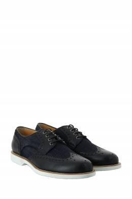 Темно-синие броги Pellettieri Di Parma 2996161600