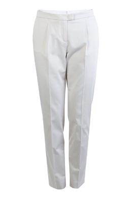 Бежевые хлопковые брюки Fabiana Filippi 2658160672