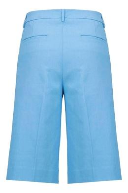 Ярко-голубые шорты Fabiana Filippi 2658160711