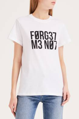 Футболка Forget Me Not Red Valentino 986158926