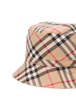 Burberry Kids - archive tartan bucket hat 53959563600500000000